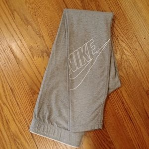 Nike Gray Leggings, size M